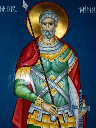 icoana Sfântului Mucenic Mina